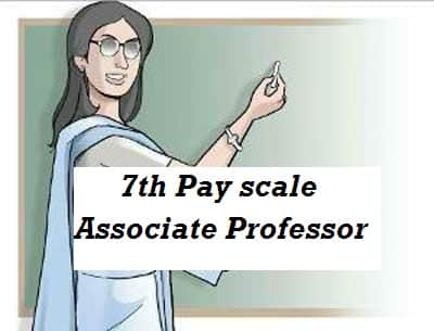 7th Pay scale for Associate Professor