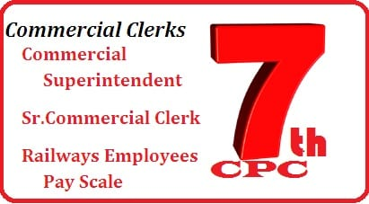 Commercial Clerks Superintendent Pay Scale salary Slip grade