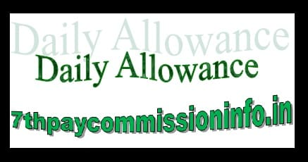 Daily Allowance Travel Policy Rates Calculation Tax Exemption