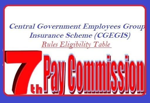 CGEGIS Rules Eligibility Table