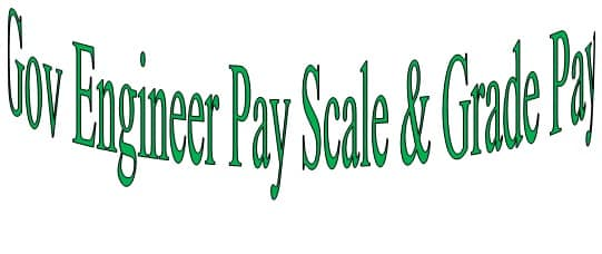 Gov Engineer Staff Pay Scale Matrix Salary Slip Allowance Under 7th Pay Commission