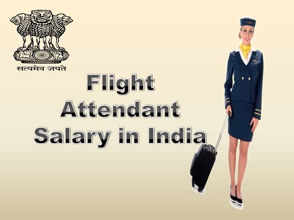 Flight Attendant Salary in India